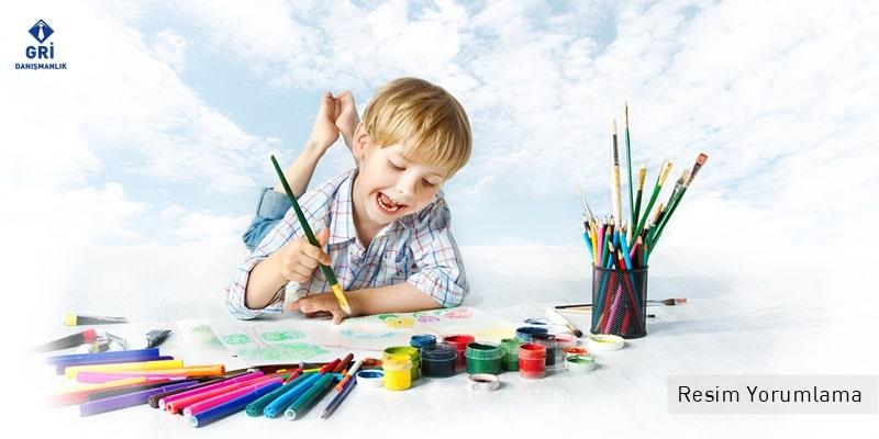 çocuk resimleri analizi ve yorumlama sertifika eğitimi gri danışmanlık